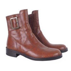 Bubetti 2047 - støvle i cognac med spænde