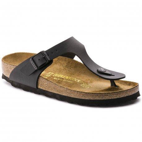 826c4dc3f8cb Birkenstock Gizeh sandal i sort - GRATIS FRAGT