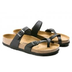 Birkenstock Mayari Oiled Leather Black