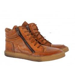 Bubetti 6908 sneakers støvle i vasket skind