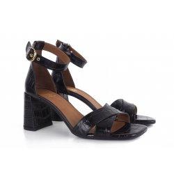 Billi Bi 2616 høj sandal i croco skind