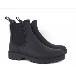 Tamaris 25359 gummistøvle i sort